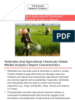 Pesticides and Agricultural Chemicals Global Market Analytics Report Released By The Business Research Company