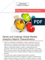 Paints and Coatings Global Market Analytics Report Released By The Business Research Company