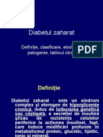 Diabet Zaharat - tablou clinic