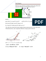 Worked Example for Engineering Mechanics-I