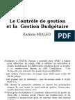 La Gestion Budgetaire