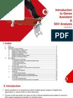 Genex Assistant SSV Analysis