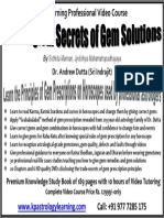 Gem Remedies in Astrology Tutorial