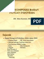 Daftar kebutuhan bahan makanan (DKBM)