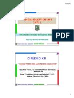 Tugas Dan Fungsi Medical education unit