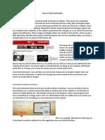 uses and principals of web animation