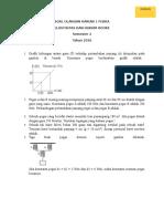 Soal Ulangan Harian 1 Fisika h Hooke