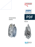Aisin Front Wheel Drive (Af40-Tf80 09g)