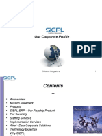 SIEPL-Brief Corporate Profile