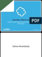 Business Refactoring - Habbo Flash Facebook Economies