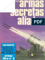 Editorial San Martin - Armas #08 Las Armas Secretas Aliadas