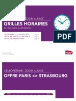 Grilles Horaires TGV Est été 2016