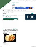 15 Contoh Procedure Text - Kursus Bahasa Inggris Online