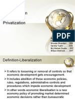 Liberalization & privatization ppt