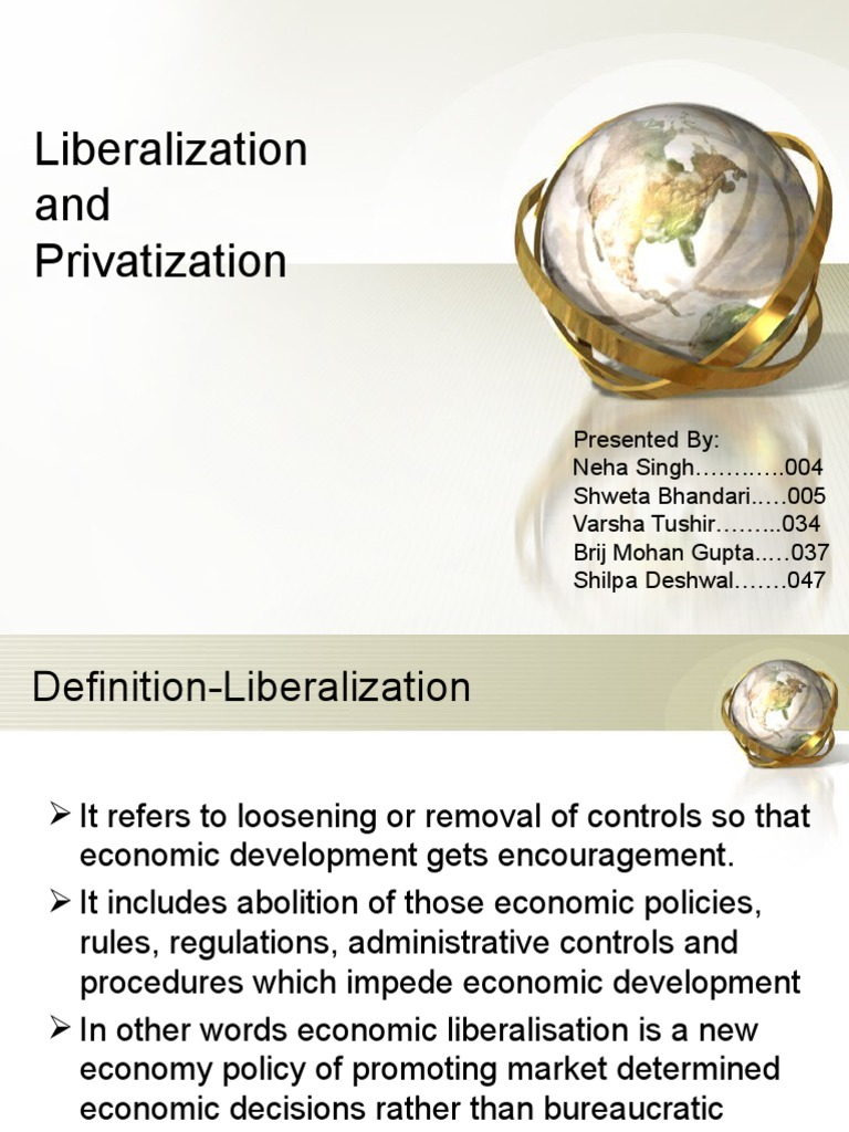 privatization research paper