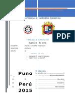 Preinversion, Estudio de Factibilidad, Evaluacion Ex Ante