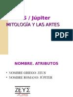 ZEUS - JÚPITER. MITOLOGÍA Y LAS ARTES