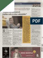 Resiliencia- Luis Rojas Marcos. Entrevista en La Vanguardia