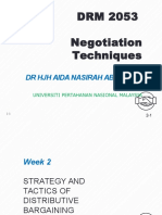 Negotiation technique chapter 2