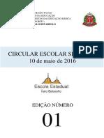 Circular Nº 01 - 10/05/2016