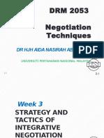 Negotiation technique chapter 3