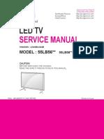 Схема и Сервис Мануал На Английском Lg 55lb56 Шасси Ld43b, Ld44b