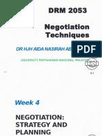 Ana Negotiation w4