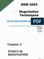 Ana Negotiation w5