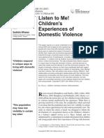 Copil/violenta domestica