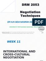 Ana Negotiation w11