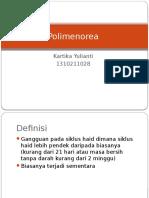 Polimenorea