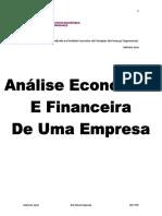 Principios de Análise Financeira
