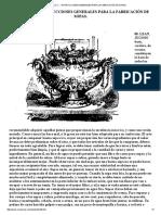 Capítulo v .Instrucciones Generales Para La Fabricación de Sopas.