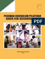 Pedoman Kurikulum Pelatihan Kader Seri Kesehatan Anak 2013