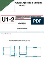 UF1-2 Introdução à Dinâmica Estrutural aplicada a Edifícios Altos