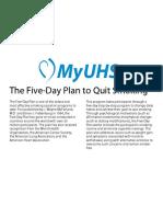 Five Day Plan