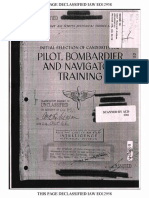 (1943) (AAF Historical Studies No.2) Initial Selection of Candidates for Pilot, Bombardier, and Navigator Training