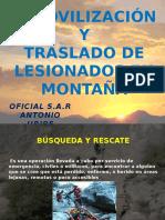 Rescate y Inmovilizacion en Montaña