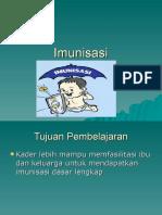 Imunisasi Untuk Kader