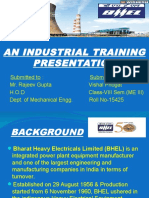 BHEL-PEM Training presentation