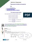 Trigonometric Identities & Application
