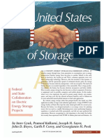 Federal and State Collaboration on Electric Energy Storage Projects