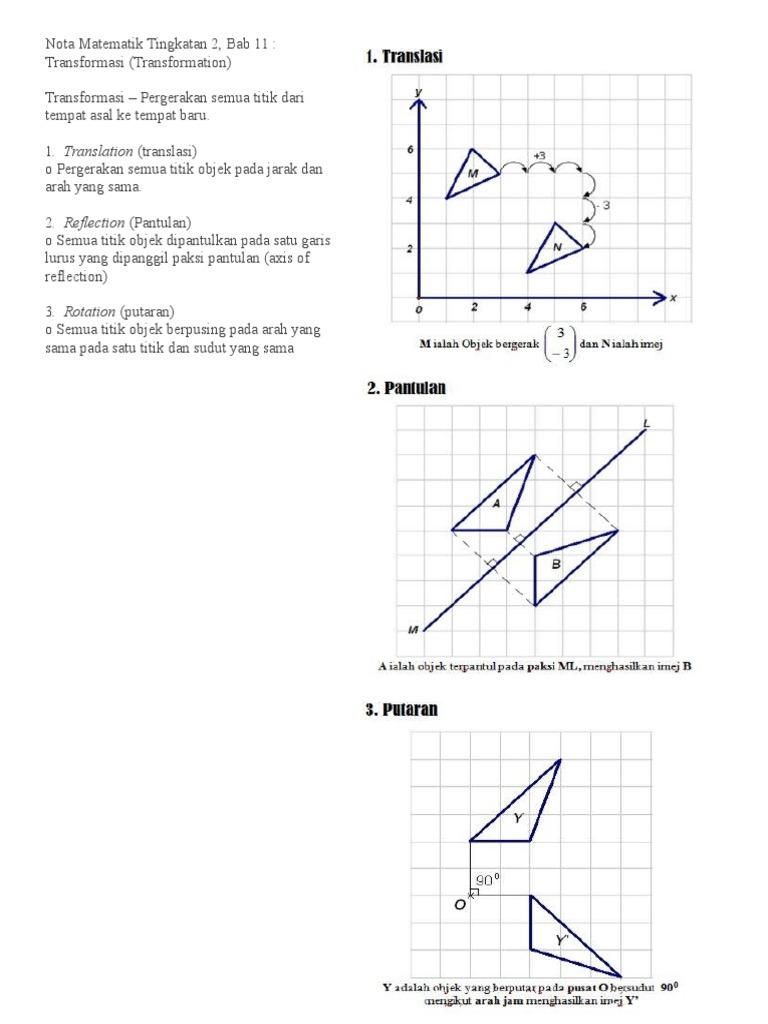 105705481 Nota Matematik Tingkatan 2 Docx