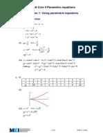 Using Parametric Equations - Solutions.pdf