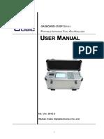 Gasboard 3100P User Manual