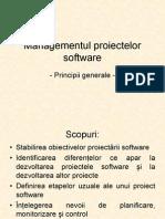 Managementul Proiectelor Software