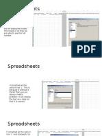 spreadsheets analysis learning aim b