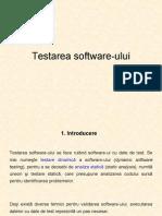 Testarea Software Ului