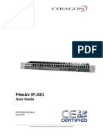 Ceragon FibeAir IP-20G User Guide 8.0 Rev A