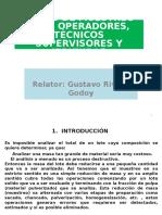 Curso de Muestreo Para Operadores, Técnicos, Supervisores y Jefaturas - Julio 2015
